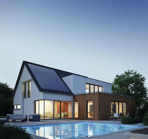solar 10000 solaranlage mit tesla speicher. Black Bedroom Furniture Sets. Home Design Ideas